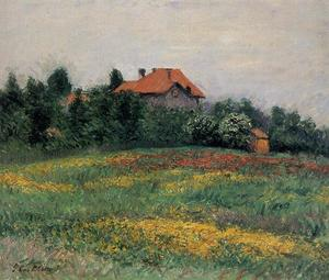 Gustave Caillebotte - Norman Paysage