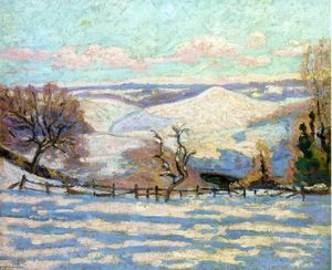 Jean Baptiste Armand Guillaumin - White Frost au Puy Barriou, Crozant