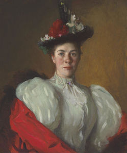 Frank Weston Benson - Portrait de Katherine Cavenaugh