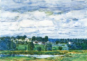 Frederick Childe Hassam - Newfields, New Hampshire 1