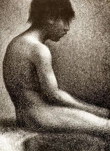 Georges Pierre Seurat - snu assis