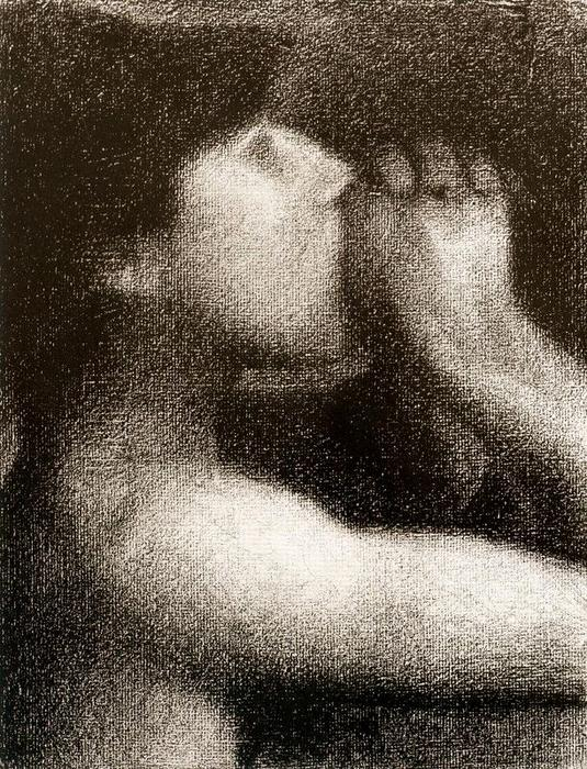 famous painting L Echo of Georges Pierre Seurat