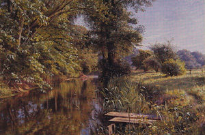 Peder Mork Monsted - Eaux calmes