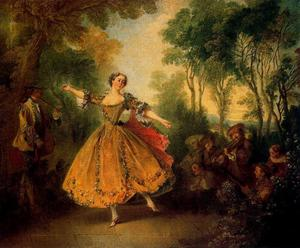Nicolas Lancret - La Camargo Dancer