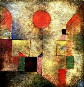 Paul Klee - rouge ballon