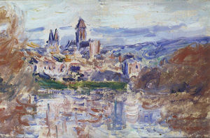 Claude Monet - Le village de Vétheuil