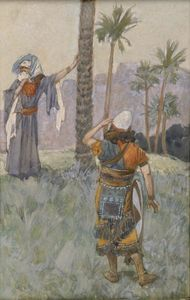 James Jacques Joseph Tissot - Deborah sous l arbre Palm