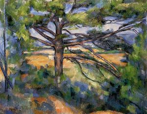 Paul Cezanne - Grand Pine et Red Earth