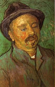 Vincent Van Gogh - Portrait de a One-Eyed Homme