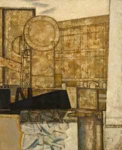 Prunella Clough - une industriel  vue