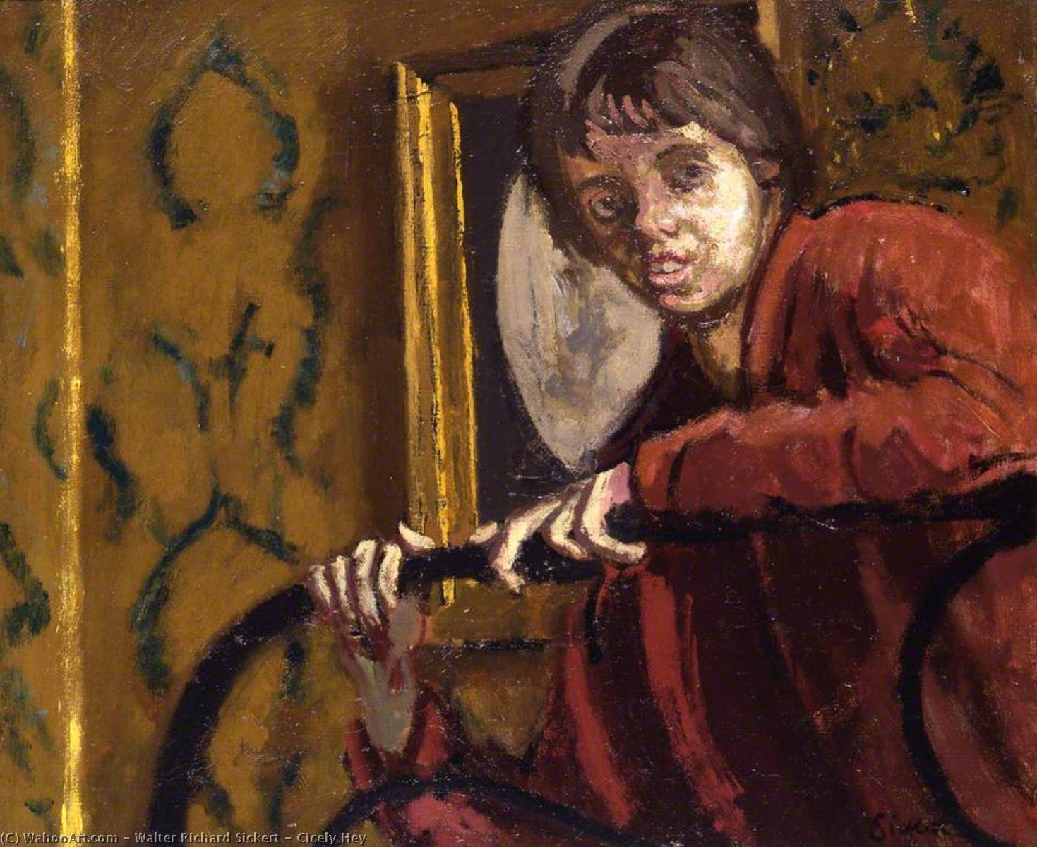 Achat Reproductions D'œuvres D'art Impressionnisme | Cicely Hé de Walter Richard Sickert | TopImpressionists.com